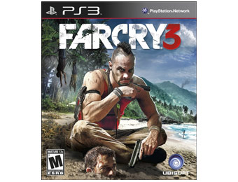 50% off Ubisoft Far Cry 3 Video Game (Playstation 3)