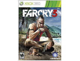 50% off Ubisoft Far Cry 3 Video Game (Xbox 360)