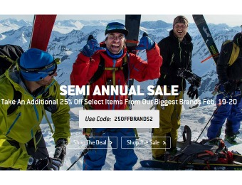 Semmi Annual Sale - Additional 25% off at Backcountry.com