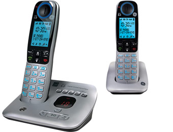 40% off GE DECT 6.0 Cordless Phone System w/ Answering System