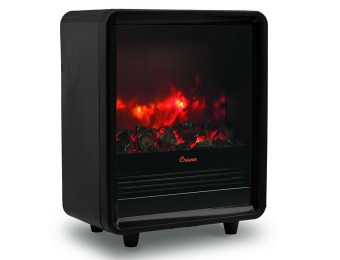 33% off Crane USA EE-8075BK Fireplace Space Heater, Black
