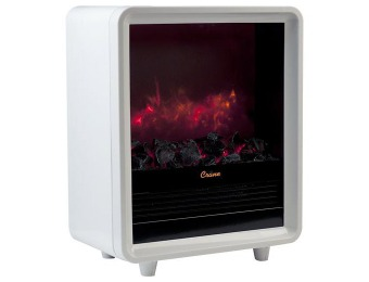 33% off Crane USA EE-8075W Fireplace Space Heater, White