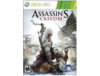 50% off Assassin's Creed III Video Game (Xbox 360)