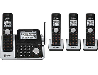 Extra $50 off AT&T CL83451 DECT 6.0 4-handset Phone System