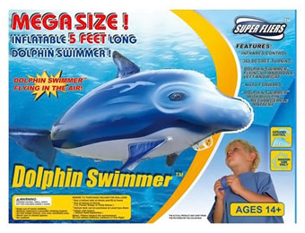 88% off Super Fliers Infrared RC Flying Dolphin Swimmer