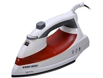 55% off Black & Decker F920 Light N Easy Steam-spray Iron