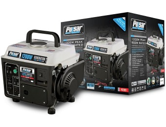 $110 off Pulsar PG1202S 1200-watt Gas Powered Generator