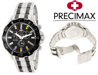 90% off Swiss Precimax SP13054 Armada Pro Two-Tone Men's Watch