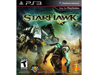 70% off Starhawk PlayStation 3 Video Game