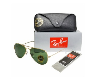 $95 off Ray Ban RB3025 Aviator Metal Classic Sunglasses