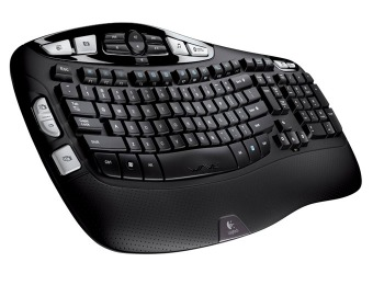 50% off Logitech K350 2.4Ghz Wireless Keyboard