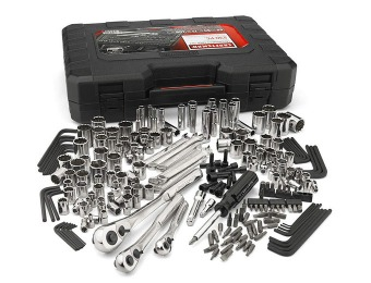 50% off Craftsman 230-Pc Standard and Metric Mechanic's Tool Set