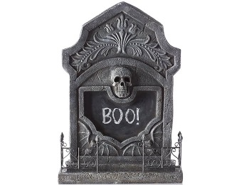 92% off RIP Tombstone with Chalkboard