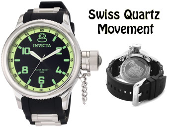 88% off Invicta 1433 Russian Diver Black Dial Men's Watch