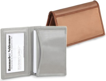 86% off Stainless Steel Business Card Case, Silver or Bronze