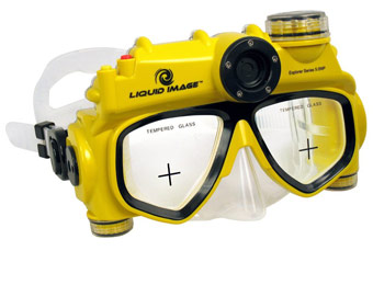 40% off Liquid Image 5MP Underwater Digital Camera Mask