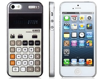 Deal: Retro Calculator iPhone 5 Case for $2.69
