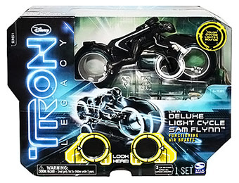 40% off Tron Deluxe Light Cycle: Sam Flynn