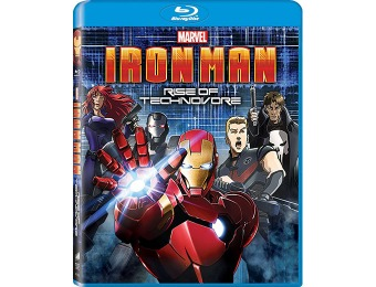 35% off Iron Man: Rise of Technovore Blu-ray