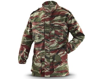 89% off Operator-grade Military Surplus BDU Jacket, Lizard Camo