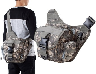 67% off G4Free Multi-functional Tactical Messenger Camera Bag