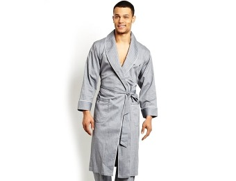 85% off Nautica Men's Sleepwear, Herringbone Robe