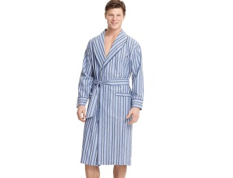 82% off Nautica Men's Sleepwear, Shawl Collar Robe