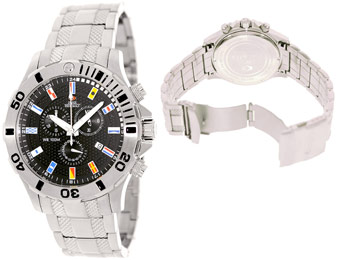 91% off Swiss Precimax SP12209 Armada Pro Stainless-Steel Watch