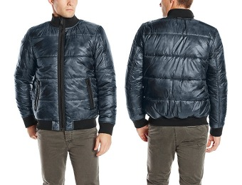 $131 off Calvin Klein Jeans Men's Paper Printed Puffer Jacket