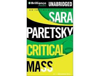 91% off Critical Mass (V.I. Warshawski Novels) Audiobook