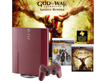 $50 off PlayStation 3 (500GB) God of War Ascension Legacy Bundle