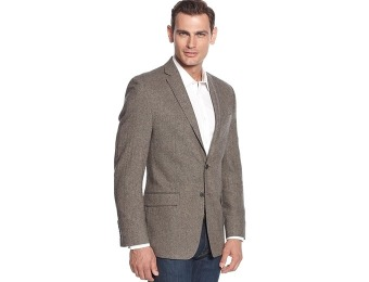 $299 off Calvin Klein Donegal Tweed Slim-Fit Sport Coat