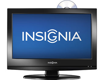 "$40 off Insignia NS-19LD120A13 19"" HDTV DVD Player Combo"