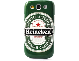Heineken Beer Samsung Galaxy S3 Case for under $4 shipped