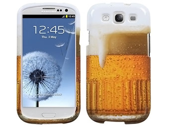 89% off Beer Glass Samsung Galaxy S3 Case - $3.89 shipped