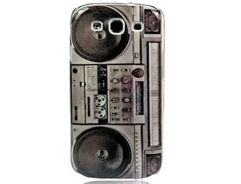 83% off Retro Boombox Samsung Galaxy S3 Case