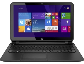 "23% 15.6"" off HP 15-f162dx Touch Screen Laptop (i3,6GB,750GB)"