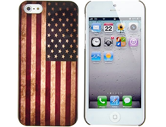 American Flag iPhone 5 Case for $3.96 shipped