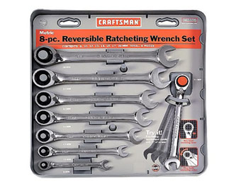 50% off Craftsman 8 pc. Metric Reversible Combo Wrench Set