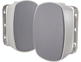 67% off Insignia NS-OS312 2-Way Indoor/Outdoor Speakers (Pair)
