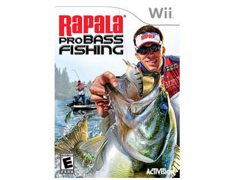88% off Rapala Pro Bass Fishing Game for Nintendo Wii