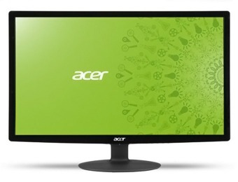 "$97 off Acer S240HL 23.6"" Full HD Widescreen LED Monitor, Refurb"