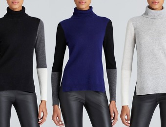 $90 off C by Bloomingdale's Cashmere Turtleneck Sweater