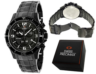 91% off Swiss Precimax Tarsis Pro SP13062 Chronograph Watch