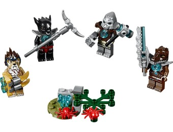 77% off LEGO Legends of Chima Minifigure Accessory Set