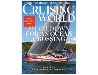 $55 off Cruising World Magazine Subscription, $4.99 / 12 Issues