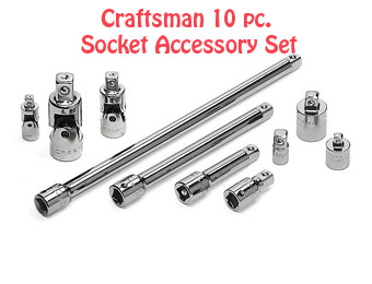 48% off Craftsman 10 Piece Accessory Tool Set