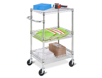 51% off Honey-Can-Do CRT-01451 Heavy Duty Rolling Utility Cart