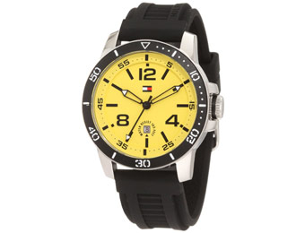50% off Tommy Hilfiger 1790857 Silicone Strap Men's Watch