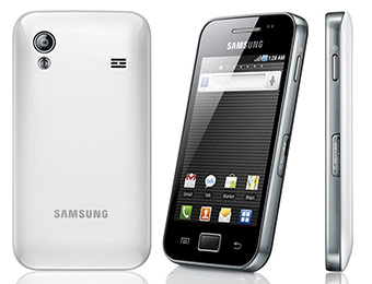 $240 off Samsung Galaxy Ace Pure White Unlocked Cell Phone